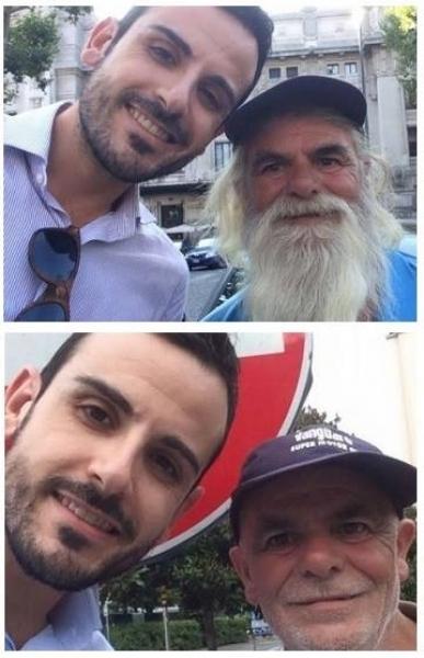Loro sono Gaetano e Franco
