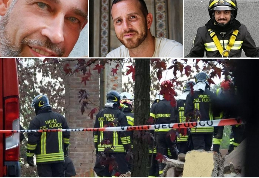 Loro sono Matteo Gastaldo, Marco Triches e Antonio Candido