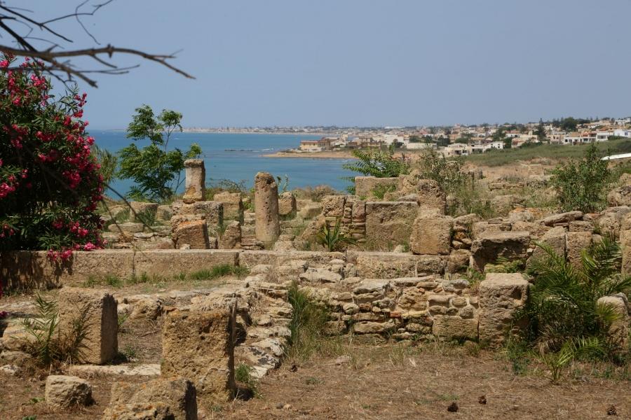Trapani: ricostruita la facciata del tempio di Selinunte